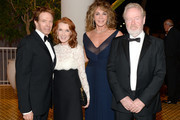 (L-R) Producer Jerry Bruckheimer, Linda Bruckheimer, producer Giannina Scott and honoree Sir Ridley Scott attend the 30th Annual American Cinematheque Awards Gala at The Beverly Hilton Hotel on October 14, 2016 in Beverly Hills, California.