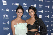 Melissa Fumero (L) and Stephanie Beatriz attend the 30th Annual GLAAD Media Awards at The Beverly Hilton Hotel on March 28, 2019 in Beverly Hills, California.