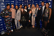 Gwyneth Paltrow (4th from R) poses with cast and crew of 'Love, Simon,' winners of  the Outstanding Film - Wide Release award, during the 30th Annual GLAAD Media Awards Los Angeles at The Beverly Hilton Hotel on March 28, 2019 in Beverly Hills, California.