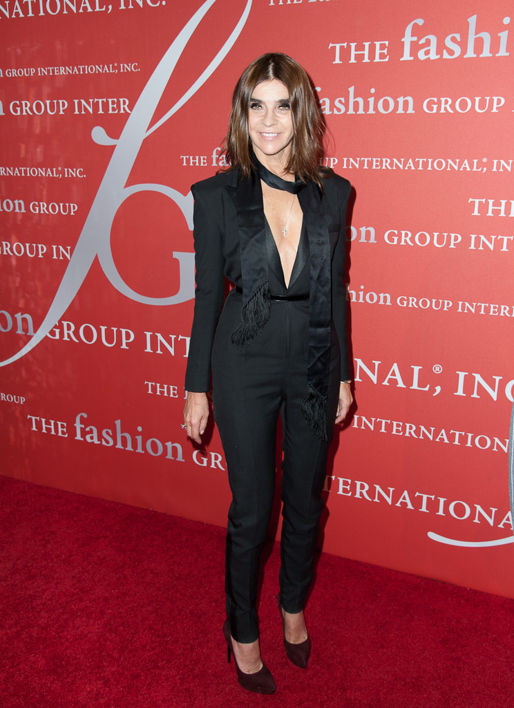 Carine Roitfeld attends the 30th Annual Night Of Stars presented by The Fashion Group International at Cipriani Wall Street on October 22, 2013 in New York City.