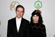 Daniel Palladino (L) and Amy Sherman-Palladino attend the 30th annual Producers Guild Awards at The Beverly Hilton Hotel on January 19, 2019 in Beverly Hills, California.