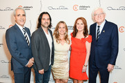 Marlo Thomas, Phil Donahue and family attend 31st Annual Colleagues Luncheon at the Beverly Wilshire Four Seasons Hotel on April 09, 2019 in Beverly Hills, California.
