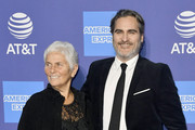 (L-R) Arlyn Phoenix and Joaquin Phoenix attend the 31st Annual Palm Springs International Film Festival Film Awards Gala at Palm Springs Convention Center on January 02, 2020 in Palm Springs, California.