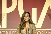 Kate Beckinsale speaks onstage during the 31st Annual Producers Guild Awards at Hollywood Palladium on January 18, 2020 in Los Angeles, California.