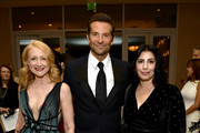 (L-R) Patricia Clarkson, Bradley Cooper, and Sue Kroll attend the 32nd American Cinematheque Award Presentation honoring Bradley Cooper at The Beverly Hilton Hotel on November 29, 2018 in Beverly Hills, California.