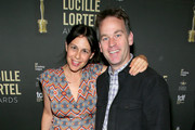 Jen Stein and Mike Birbiglia attend the 34th Annual Lucille Lortel Awards on May 05, 2019 in New York City.