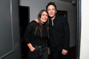 Jakob Dylan and Jade Castrinos attend the screening of 'Echo in the Canyon' at the Lobero Theatre on February 08, 2019 in Santa Barbara, California.
