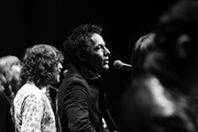 Image was shot in black and white. Color version not available.) Jakob Dylan performs onstage at the screening of 'Echo in the Canyon' at the Lobero Theatre on February 08, 2019 in Santa Barbara, California.