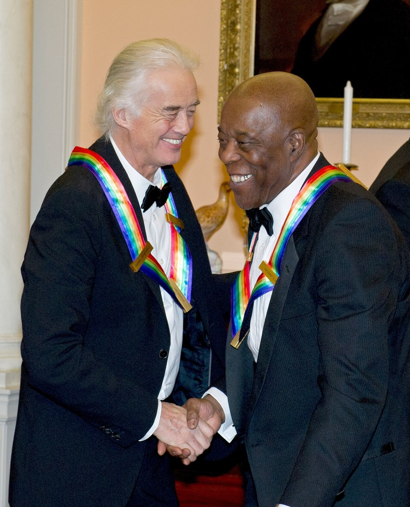 buddy guy in 35th kennedy center honors gala dinner zimbio