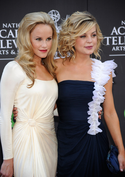 Julie Berman Actress Julie Berman and Kirsten Storms attend the 36th Annual