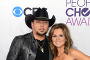 Jason Aldean and Jessica Aldean Photos Photo
