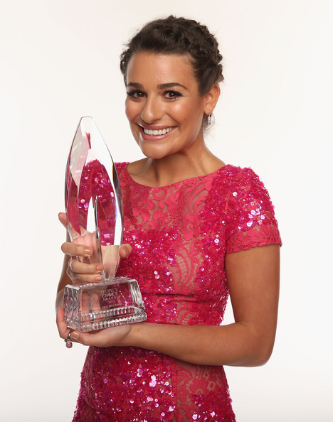 Actress Lea Michele poses for a portrait during the 39th Annual People's Choice Awards at Nokia Theatre L.A. Live on January 9, 2013 in Los Angeles, California.