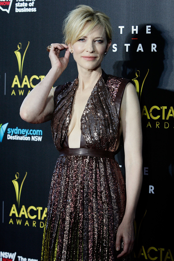 3rd Annual AACTA Awards Arr    Cate Blanchett