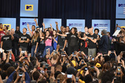 3rd Annual College Signing Day at the Harlem Armory on April 26, 2016 in New York City. The event, co-hosted by MTV, was  part of First Lady Michelle Obama's Reach Higher initiative which encourages young people to continue their education past High School.