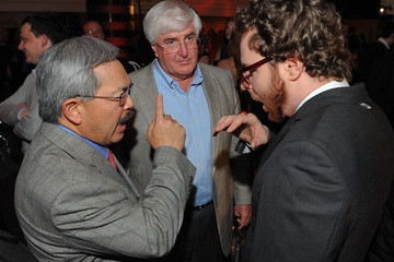 Ron Conway Ed Lee 3rd Annual TechFellow Awards at SF MOMA