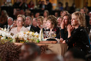 (L-R) Actress Meryl Streep, honoree Shirley MacLaine and Julia Roberts attend the 40th AFI Life Achievement Award honoring Shirley MacLaine held at Sony Pictures Studios on June 7, 2012 in Culver City, California. The AFI Life Achievement Award tribute to Shirley MacLaine will premiere on TV Land on Saturday, June 24 at 9PM ET/PST.