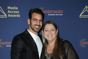 Nyle DiMarco (L) and Camryn Manheim attend the 40th Annual Media Access Awards In Partnership With Easterseals at The Beverly Hilton Hotel on November 14, 2019 in Beverly Hills, California.