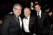 (L-R) President of Turner Entertainment Networks Steve Koonin, honoree Mel Brooks and President, Head of Programming for TNT, TBS and Turner Classic Movies Michael Wright attend the 41st AFI Life Achievement Award Honoring Mel Brooks at Dolby Theatre on June 6, 2013 in Hollywood, California. Special Broadcast will air Saturday, June 15 at 9:00 P.M. ET/PT on TNT and Wednesday, July 24 on TCM as part of an All-Night Tribute to Brooks.