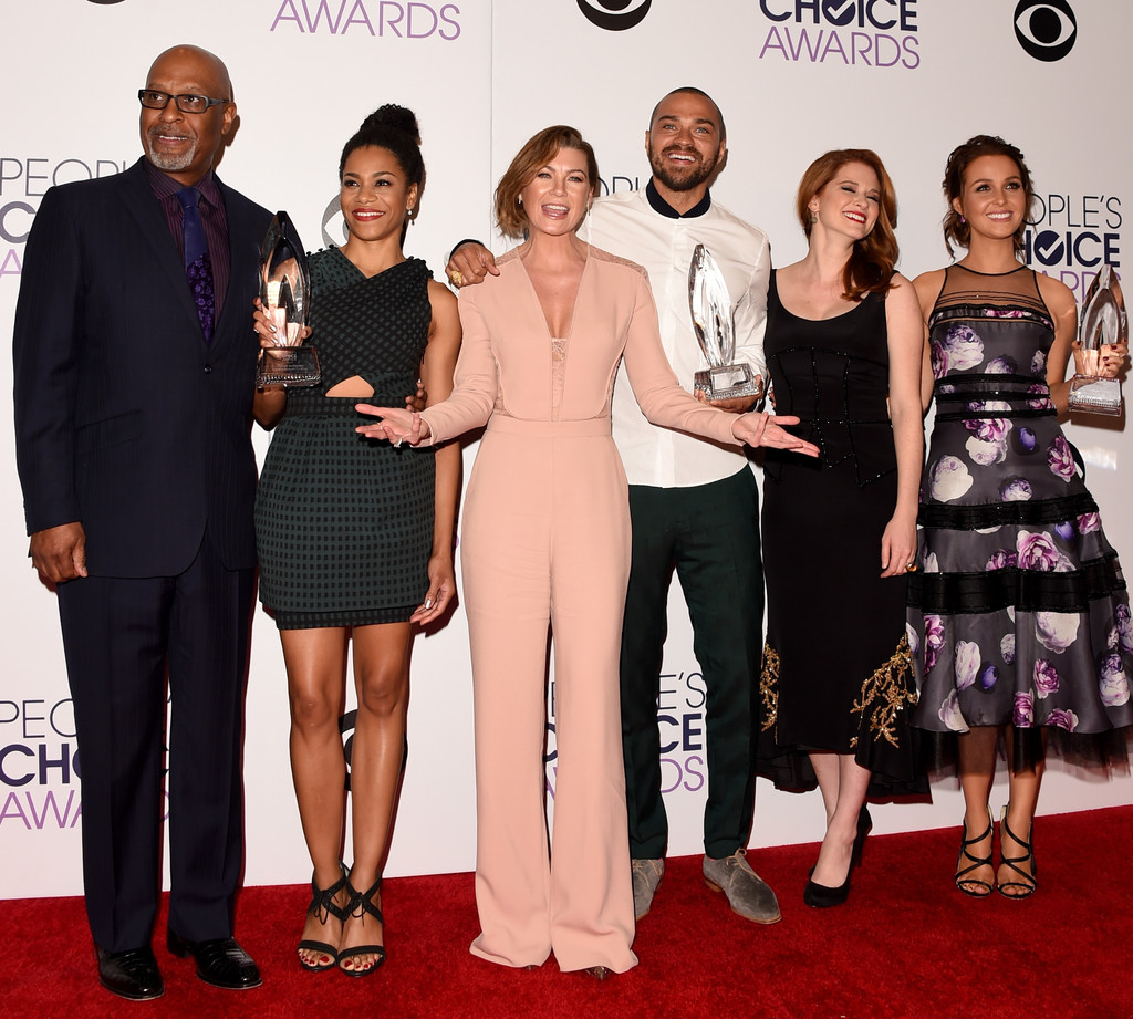 Ellen Pompeo and Jesse Williams Photos Photos - People\'s Choice ...