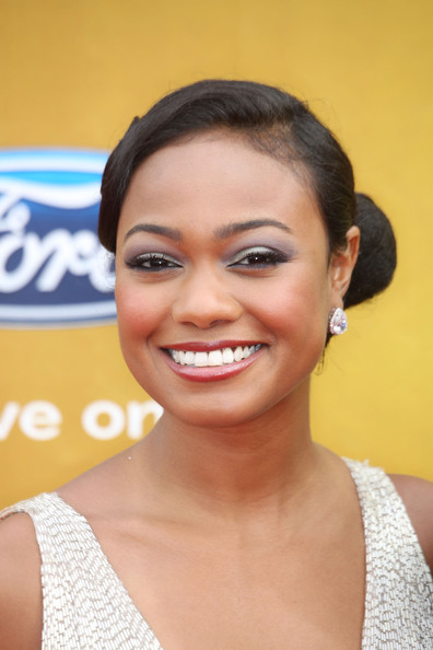 Actress Tatyana Ali arrives at the 41st NAACP Image awards held at The ...