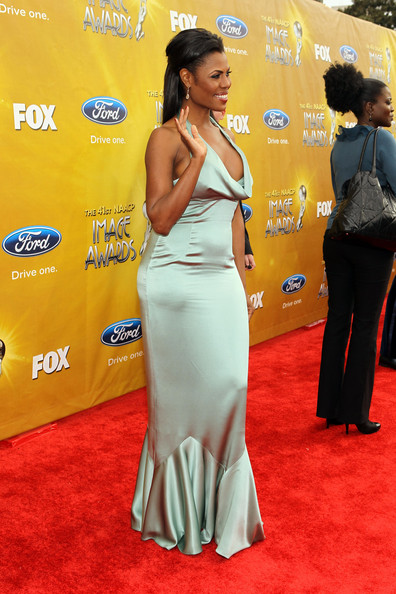 TV Personality Omarosa Manigault-Stallworth arrives at the 41st NAACP Image awards held at The Shrine Auditorium on February 26, 2010 in Los Angeles, California.