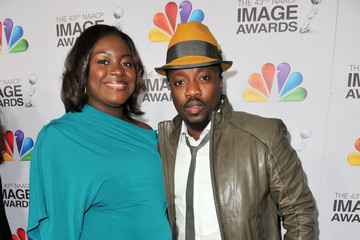 Anthony Hamilton Tarsha McMillan 43rd NAACP Image Awards - Red Carpet