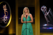 Laura Wright speaks onstage during the 45th annual Daytime Emmy Awards at Pasadena Civic Auditorium on April 29, 2018 in Pasadena, California.