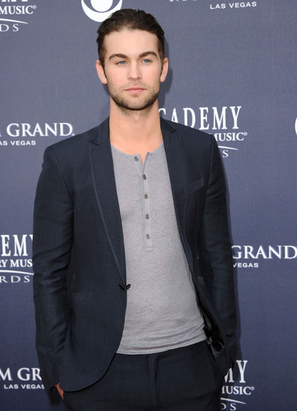 Actor Chace Crawford  arrives at the 46th Annual Academy Of Country Music Awards RAM Red Carpet held at the MGM Grand Garden Arena on April 3, 2011 in Las Vegas, Nevada.