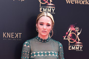 Hunter King attends the 46th annual Daytime Emmy Awards at Pasadena Civic Center on May 05, 2019 in Pasadena, California.