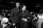 Image has been shot in black and white. Color version not available.) (L-R) Mahershala Ali and Ava DuVernay attend the 47th AFI Life Achievement Award honoring Denzel Washington at Dolby Theatre on June 06, 2019 in Hollywood, California. (Photo by Charley Gallay/Getty Images for WarnerMedia) 610288