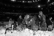 Image has been shot in black and white. Color version not available.) (L-R) Julia Roberts, Cicely Tyson and B Michael attend the 47th AFI Life Achievement Award honoring Denzel Washington at Dolby Theatre on June 06, 2019 in Hollywood, California. (Photo by Charley Gallay/Getty Images for WarnerMedia) 610288