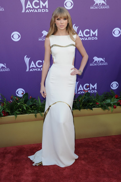 Taylor+Swift in 47th Annual Academy Of Country Music Awards - Arrivals