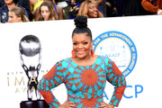 Yvette Nicole Brown attends the 49th NAACP Image Awards at Pasadena Civic Auditorium on January 15, 2018 in Pasadena, California.