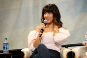 Stephanie Beatriz speaks onstage during 'The Time is Now' panel at the 4th Annual Bentonville Film Festival - Day 5 on May 5, 2018 in Bentonville, Arkansas.
