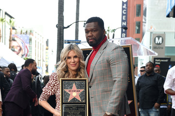 50 Cent 50 Cent Walk Of Fame Ceremony
