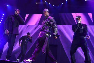 50 Cent Chris Brown and Trey Songz 'Between The Sheets' Tour - Brooklyn