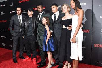 50 Cent 'Southpaw' New York Premiere