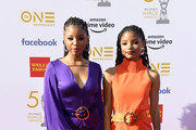 Chloe x Halle attend the 50th NAACP Image Awards at Dolby Theatre on March 30, 2019 in Hollywood, California.