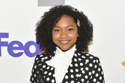 Laya DeLeon Hayes attends the 50th NAACP Image Awards Nominees Luncheon at Loews Hollywood Hotel on March 09, 2019 in Hollywood, California.