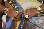 Lizzo, bag detail, attends the 51st NAACP Image Awards, Presented by BET, at Pasadena Civic Auditorium on February 22, 2020 in Pasadena, California.