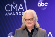 (FOR EDITORIAL USE ONLY) Singer-songwriter Ricky Skaggs attends the 52nd annual CMA Awards at the Bridgestone Arena on November 14, 2018 in Nashville, Tennessee.