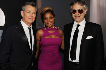 Andrea Bocelli David Foster 52nd Annual GRAMMY Awards - Arrivals