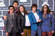 Musical group MGMT arrives at the 52nd Annual GRAMMY Awards held at Staples Center on January 31, 2010 in Los Angeles, California.