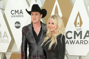 (FOR EDITORIAL USE ONLY) Jon Pardi and Summer Duncan attend the 53rd annual CMA Awards at the Music City Center on November 13, 2019 in Nashville, Tennessee.