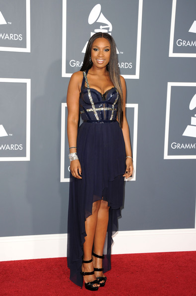 Singer/actress Jennifer Hudson arrives at The 53rd Annual GRAMMY Awards held at Staples Center on February 13, 2011 in Los Angeles, California.