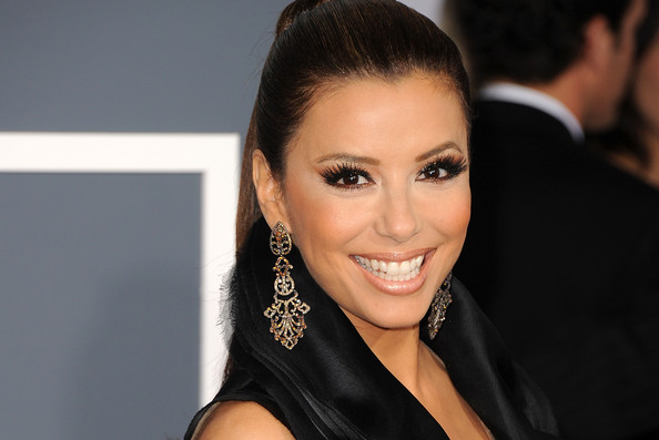 Eva+Longoria in The 53rd Annual GRAMMY Awards - Arrivals