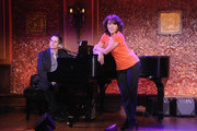 Pianist Seth Rudetsky and Comedian Andrea Martin attend the press preview at 54 Below on October 4, 2012 in New York City.