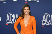 Danica Patrick attends the 54th Academy Of Country Music Awards at MGM Grand Hotel & Casino on April 07, 2019 in Las Vegas, Nevada.