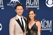 Scott McCreery (L) and Gabi McCreery attend the 54th Academy Of Country Music Awards at MGM Grand Hotel & Casino on April 07, 2019 in Las Vegas, Nevada.