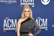 Carrie Underwood attends the 54th Academy Of Country Music Awards at MGM Grand Hotel & Casino on April 07, 2019 in Las Vegas, Nevada.